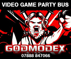 Godmodex Entertainment & Video Game Bus
