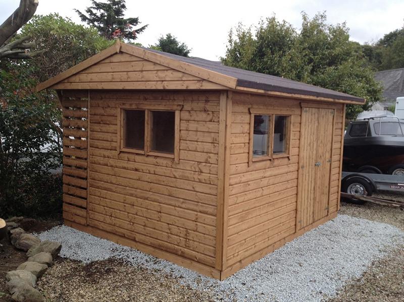 posh sheds ni ballygowan garden sheds kids timber play. Black Bedroom Furniture Sets. Home Design Ideas
