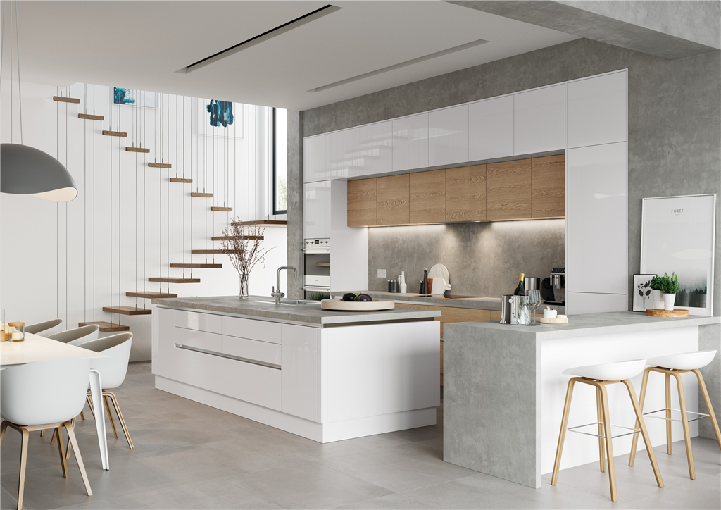 Gallery Image Gallery Thumbnail Image With Kchen In U Form Elegant  Affordable Modern L Shaped Kitchen.