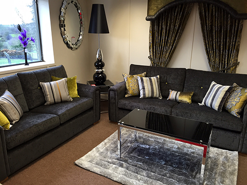 Furniture showroom displaying living room dining room and for A w beattie dining room