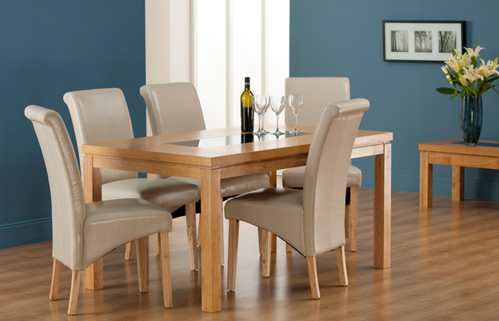 Dining room table and chairs northern ireland image mag for B m dining room table