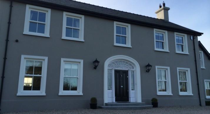 Carrolls glass timber belfast aluminium windows for Upvc french doors northern ireland