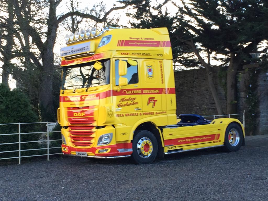 Fegan Transport Ltd Craigavon Bulk Food Haulage Ni