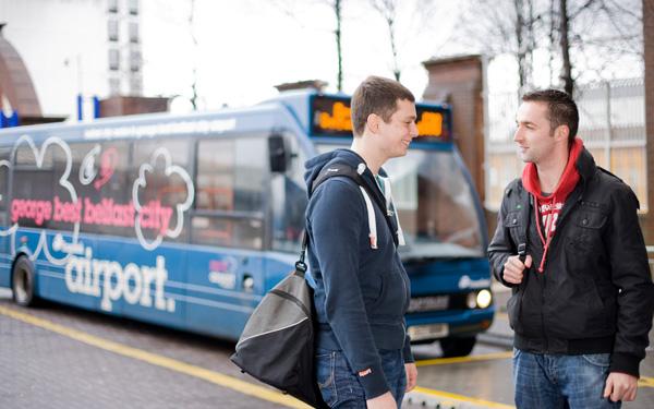Translink Belfast Metro Bus Trains Public Transport
