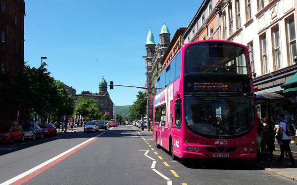 Translink Belfast Metro Bus Trains Public Transport