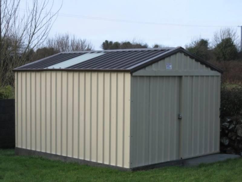 steel sheds ni | Steeltech Steel Sheds & Garden Rooms