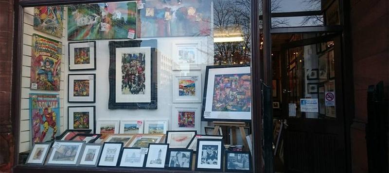 Sheldon Galleries, Belfast - Picture framing Art Gallery