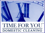 Time For You Domestic Cleaning Logo