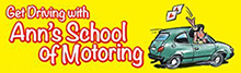 Ann's School of Motoring Logo