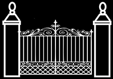 Cedric Hall Wrought Iron Gates and RailingsLogo