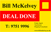 Bill McKelvey Estate Agent Logo