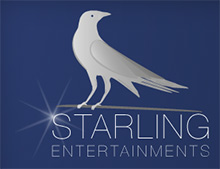 Starling Entertainments, Ballymena Company Logo