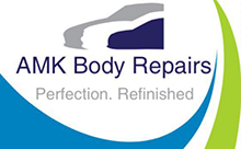 AMK Body Repairs Logo