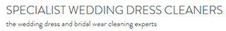 Specialist Wedding Dress CleanersLogo