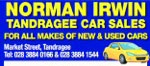 NORMAN IRWIN Tandragee Car SalesLogo
