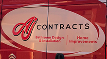 AJ Contracts Logo