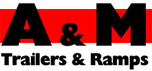 A & M Trailers, Ramps & Trailer Parts Logo