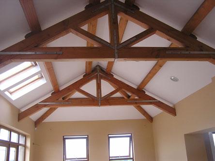 Scissor trusses quotes for Exposed roof truss design
