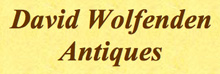 David Wolfenden AntiquesLogo