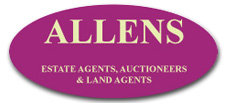 Allens Estate Agents Auctioneers & Land Agents Logo