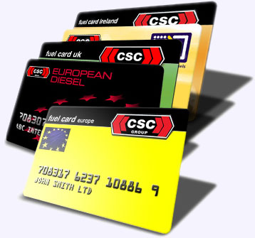 CSC Fuel Cards Image