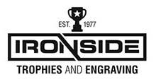 Ironside Trophies & Engraving Specialists Logo
