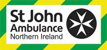 St John Ambulance ( NI ) First Aid Training Belfast Logo