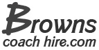 Browns Coach Hire, Belfast Company Logo