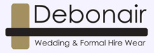 Visit Debonair Wedding & Formal Wear website