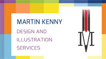 Martin Kenny Design and Illustration Logo