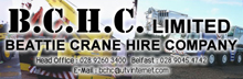 Beattie Crane Hire ( BCHC Ltd )Logo
