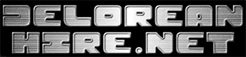 DeLorean Hire Logo