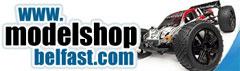 Visit Model Shop Belfast .com website