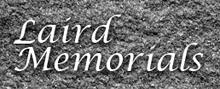 Visit Laird Memorials website