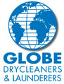 Globe Drycleaners and Launderers Logo