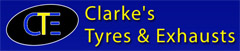 Clarkes Tyres & Exhausts Logo
