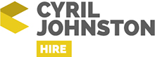 Cyril Johnston Hire, Belfast Company Logo