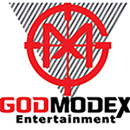 Godmodex Entertainment & Video Game Bus Logo