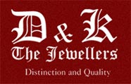 D & K The Jewellers Logo