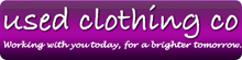 Used Clothing Co, Antrim Company Logo