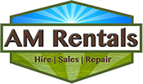 Visit AM Rentals website