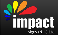 Impact Signs, Belfast Company Logo