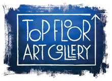 Top Floor Art Gallery & Open Studio Logo