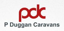 Visit P Duggan Caravans website