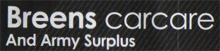 Visit Breens Car Care Products & Army Surplus website