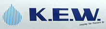 K. E. W. Cleaning Equipment Logo