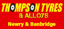 Thompson Tyres Newry Logo