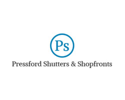 Pressford Shutters & Shopfronts LtdLogo