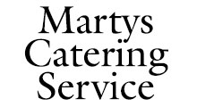 Martys Catering Service Logo