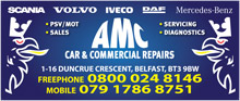 AMC Car & Commercial RepairsLogo